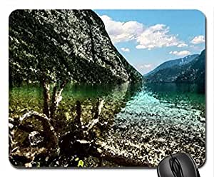 gorgeous lake hdr Mouse Pad, Mousepad (Lakes Mouse Pad, Watercolor style)