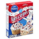 Pillsbury Funfetti Stars and Stripes Cake Mix, 15.25 Ounce (Pack of 12)