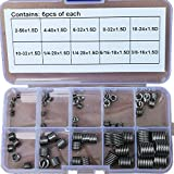 60pcs Unified USA 304 Stainless steel Helicoil Thread Repair Insert Assortment Kit