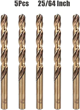 25//64 Carbide Tipped Jobber Length Drill Bit