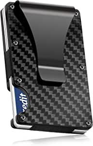 RuoFeng Carbon Fiber Wallet Protects Credit Card Holders for Unisex Wallets