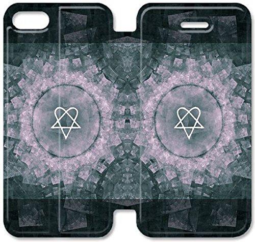 Flip étui en cuir PU Stand pour Coque iPhone 5 5S, bricolage 5 5S Coque Case étui de téléphone cellulaire en cuir Lui F7W4DZ plastique transparent Coque iPhone
