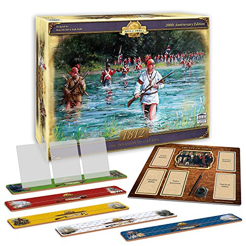 Academy Games 1812 - The Invasion of Canada Expanded Edition with Card Holders (The Canada Of Invasion 1812)