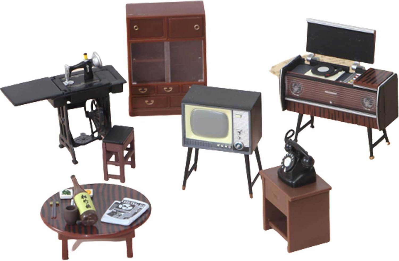 Haomian Dollhouse Furniture Set 1:12/1:18 Vintage Japanese Furniture Dollhouse Doll Decoration Accessories Kids Pretend Play Toy