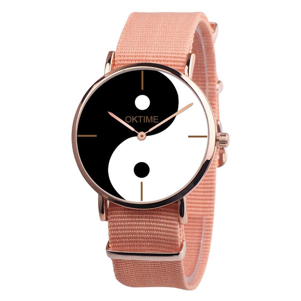 Kasenxet - Reloj analógico de Cuarzo para Mujer, de Piel, con Ocho diagramas, Casual, de Moda: LQY: Amazon.es: Relojes