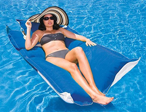 Kai Floating Lounger in Pacific Blue ()