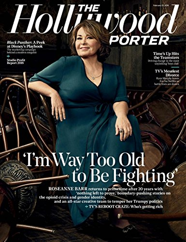 The Hollywood Reporter Magazine (February 21, 2018) Roseanne Barr Cover
