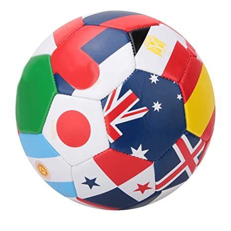 VGEBY1 Fútbol, Balón de fútbol Bandera Nacional Patrón Juego al ...