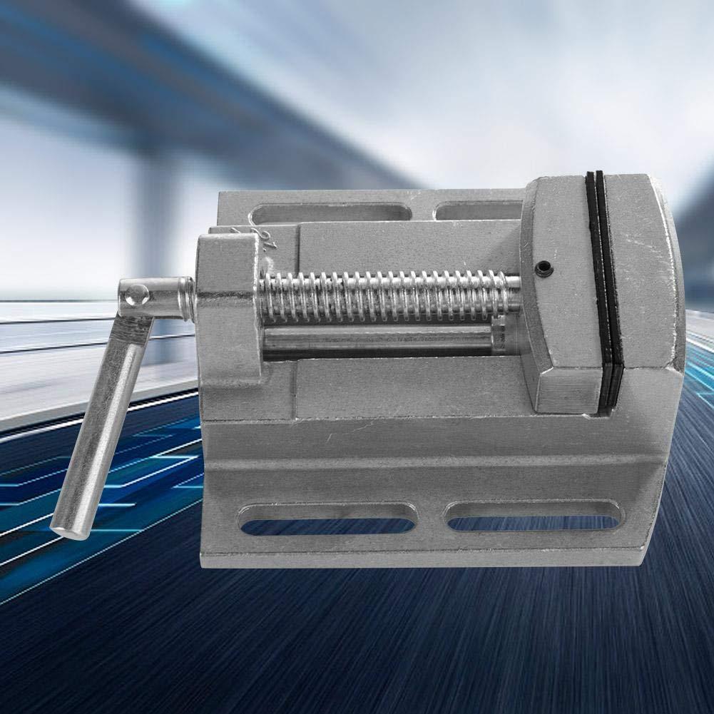2,5 Zoll Miniatur Schraubstock Aluminium Tischklemme Flachzange Bohrmaschine Schraubstock Mini Schraubstock