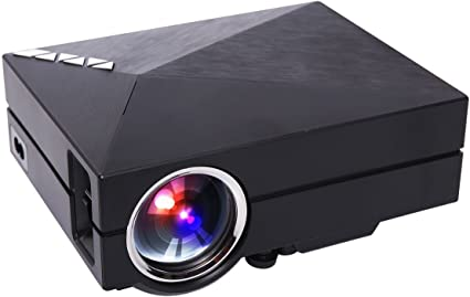 uvistar Proyector (GM60/gm60 a WiFi proyector Mini proyector LED ...