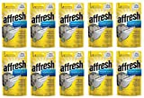 Affresh W10549850 Dishwasher Cleaner KXfYtF, 60 Tablets in Pouch
