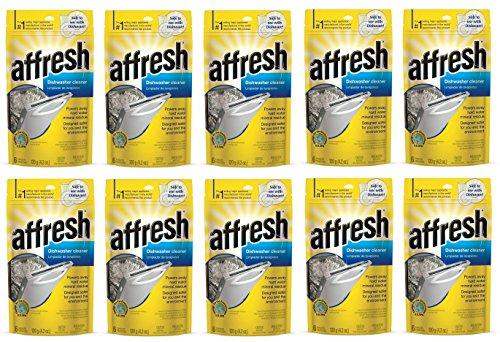 Affresh W10549850 Dishwasher Cleaner KXfYtF, 60 Tablets in Pouch by Affresh