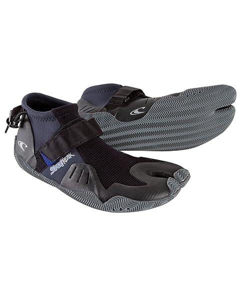 O'Neill Wetsuits Mens Superfreak Tropical 2 mm Split Toe Boot , Black, ...