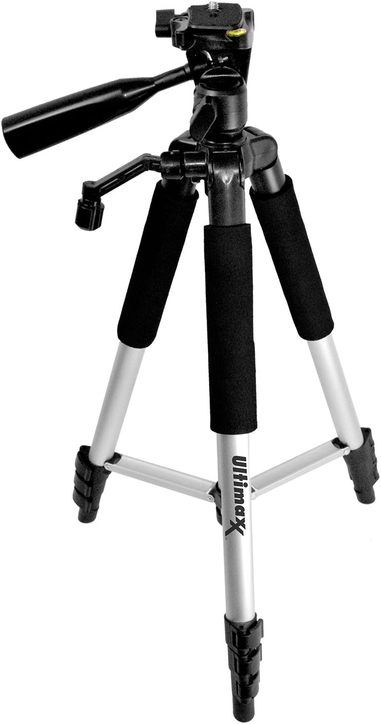 Extreme 64GB SD Tripod MEGA Accessory Kit with LPE17 Battery and Charger Gadget Bag and Cloth for Canon EOS RP SL2 SL3 T6s T6i T7i 77D 800D 760D 200D M5 M6 Flash