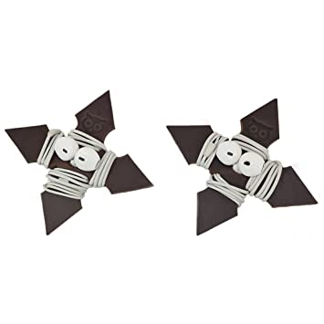 Ninja Star - Papel de Piel Gruesa para Auriculares, 2 ...