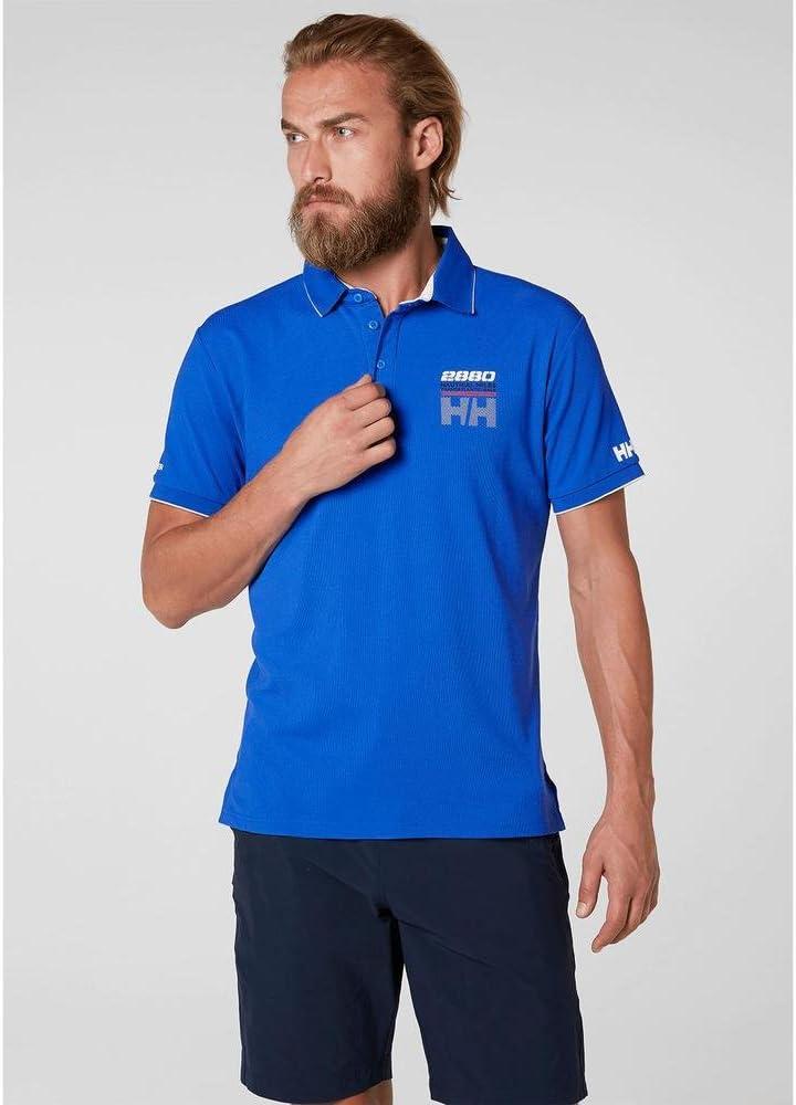 Helly Hansen HP Racing Polo, Hombre, Azul, S: Amazon.es: Ropa y ...