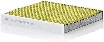 Original Mann Filter Innenraumfilter Fp 26 009 Freciousplus Biofunktionaler Pollenfilter Für Pkw Auto