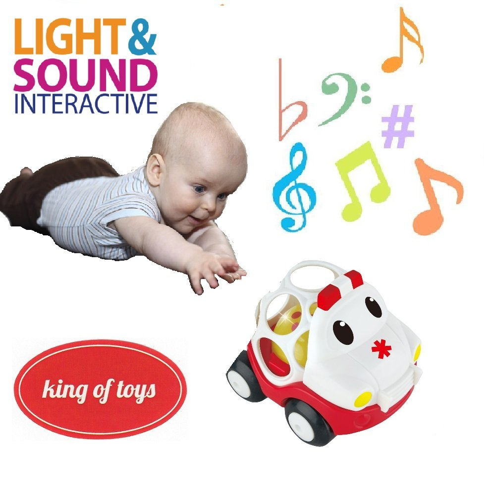 10PCS//Set sale Jingle Ball Ring Training Grasping Ability Rattles Baby Toys New