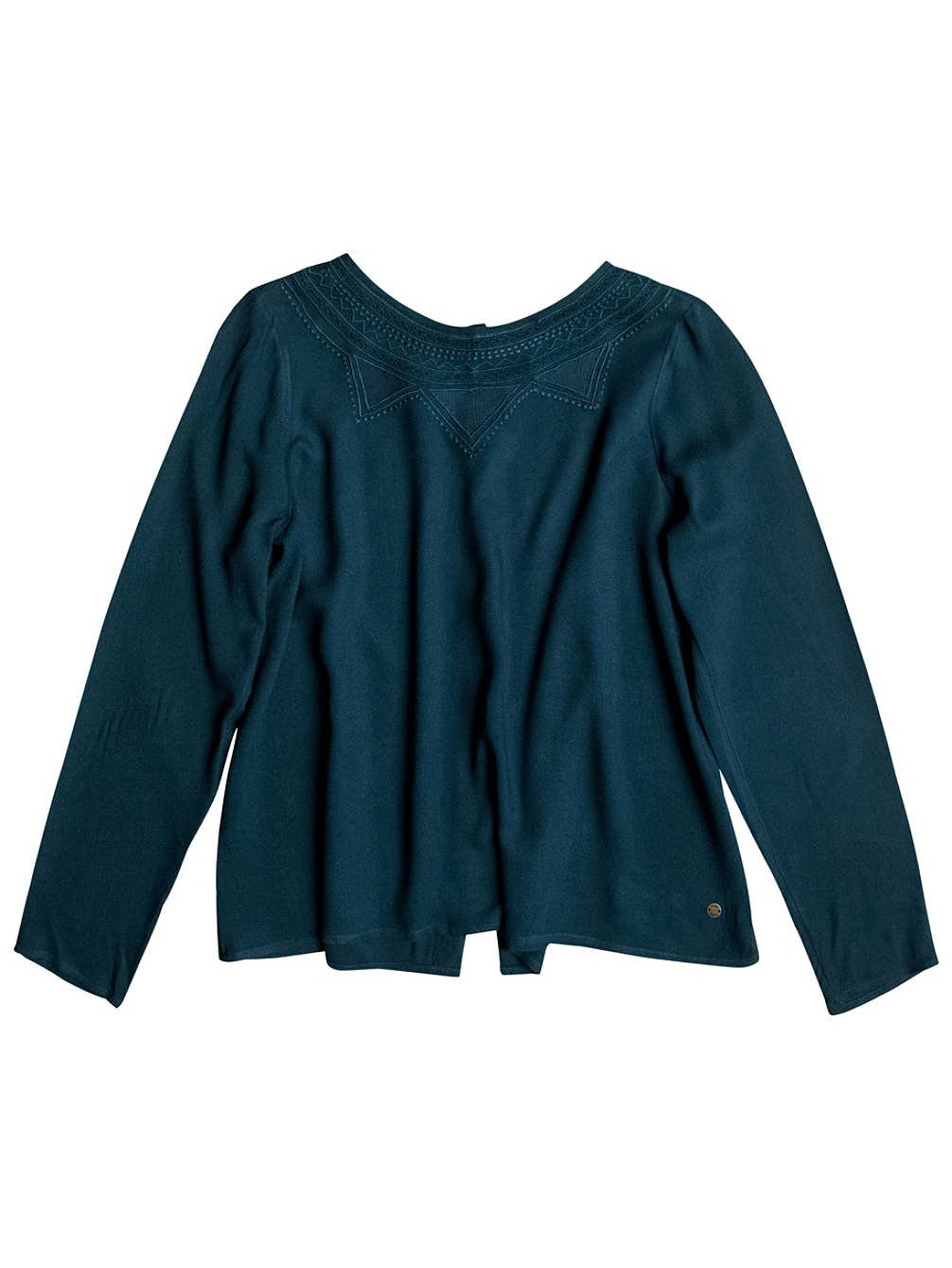 TALLA L. Roxy Mujeres Come Let Go Manga Larga Top, Mujer, Come Let Go, Reflecting Pond, L