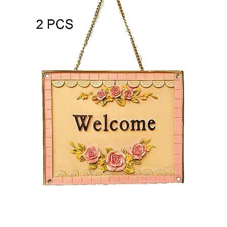 Cartel de Bienvenida Romántico 3D Rose Print Cartel de ...