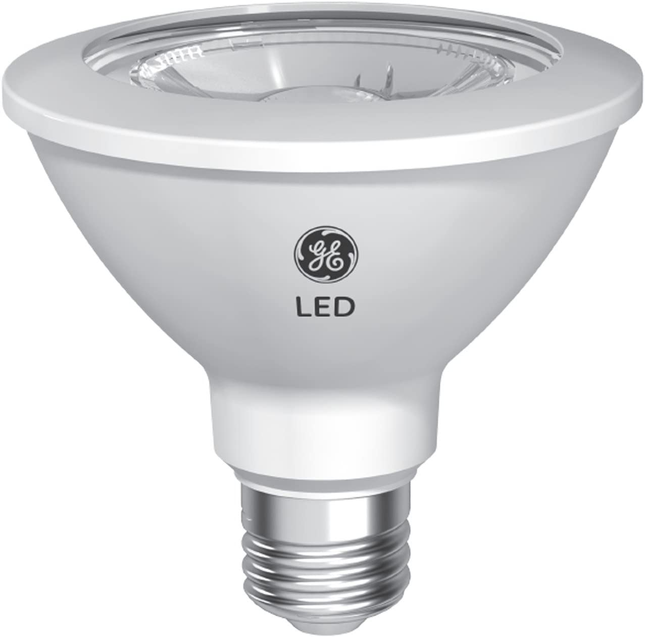 GE Lighting Relax HD LED Light Bulbs, PAR30 Short Neck LED, 75W Replacement, 2-Pack, Soft White, Dimmable LED Flood Light