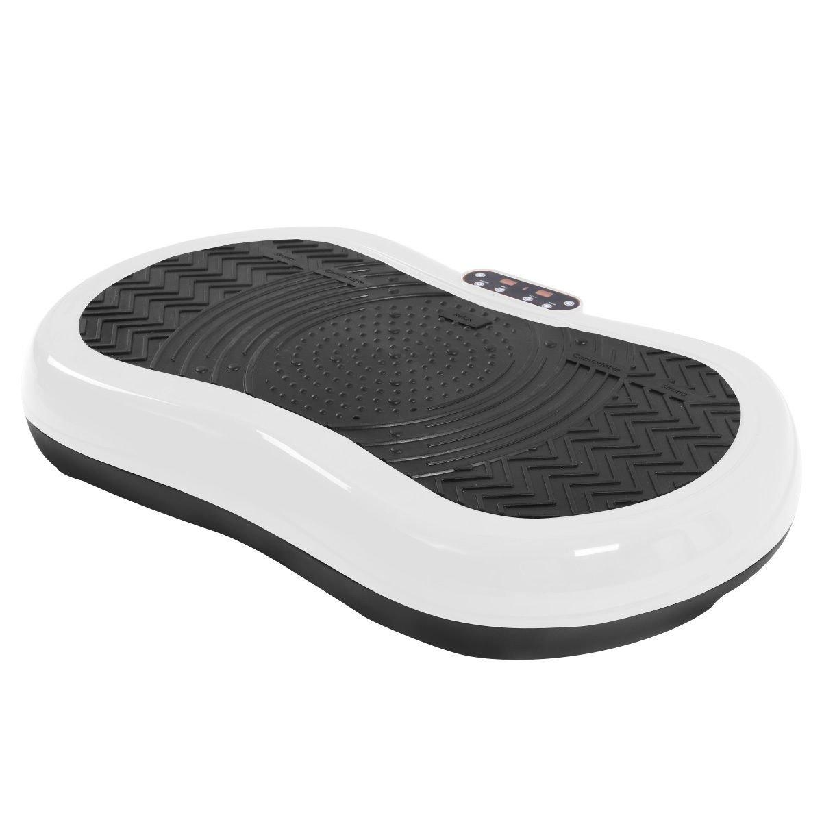 Tangkula Ultrathin Mini Crazy Fit Vibration Platform Massage Machine Fitness Gym (White) by Tangkula (Image #2)