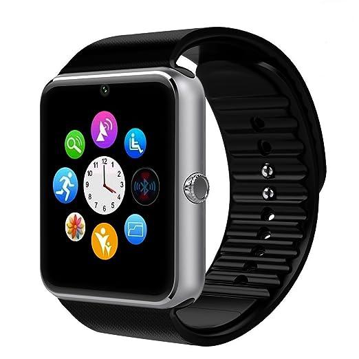 349 opinioni per Smartwatch Android, DeYoun® Bluetooth Smartwatch Intelligente Orologio Da Polso