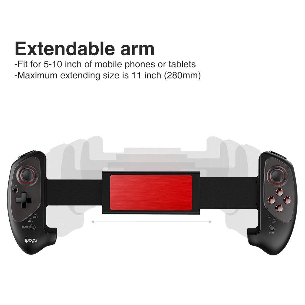 EgalBest IPEGA PG-9083 Bluetooth Wireless Gamepad Telescopic Game Controller for Android Joystick Pad