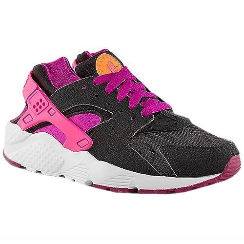 2014 Zapatos Zapatillas Nike Max NiñosAir Negro De Cuero