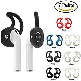 Tutor AirPods Ear Hook Cover for Apple AirPods Earphones Headphones Earbuds Accessories (7 Pairs-Medium)