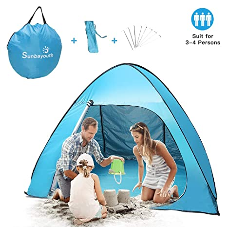 official photos 2b6eb 121b0 Sunba Youth Beach Tent, Pop Up Tent, Baby Beach Sun Shade ...
