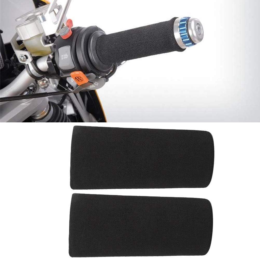 Copri Impugnatura per Manubrio in Schiuma Morbida 2 Pezzi Schiuma Morbida Anti-Vibrazione per Moto Antiscivolo Growcolor Copri Manubrio per Moto