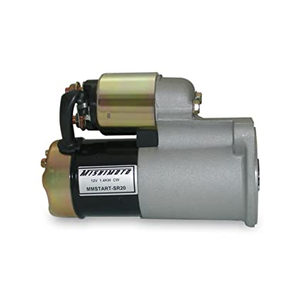 amazon com mishimoto mmstart sr20 new replacement starter automotive rh amazon com sr20det starter and alternator wiring