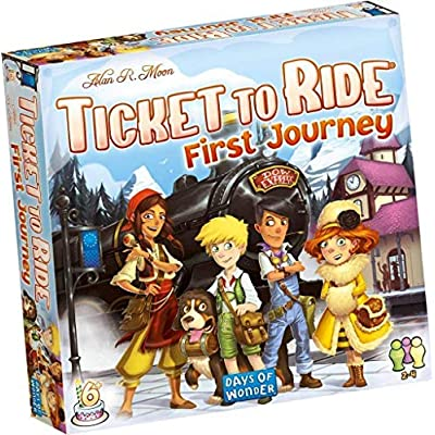 Ticket to Ride - First Journey: Toys & Games