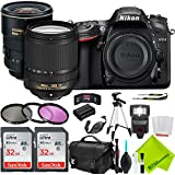 Nikon D7200 DSLR Camera with Nikon AF-S DX Zoom-NIKKOR 17-55mm f/2.8G IF-ED Lens and Nikon 18-140mm Lens 2 Lenses Bundle
