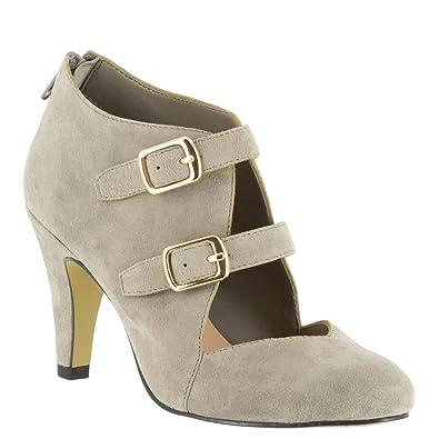 Bella Vita Women's Niko Dress Pump Grey Size 11.0