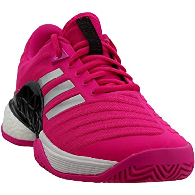 classic fit buy good classic styles Adidas Barricade 2018 Boost Shoe Men's Tennis 8 Shock Pink ...