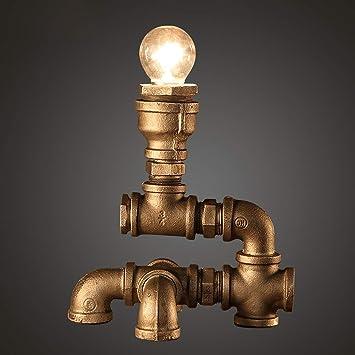 Raing Sola Cabeza de Hierro Antiguo/Hacer el Viejo/Agua tuberías lámparas de Escritorio