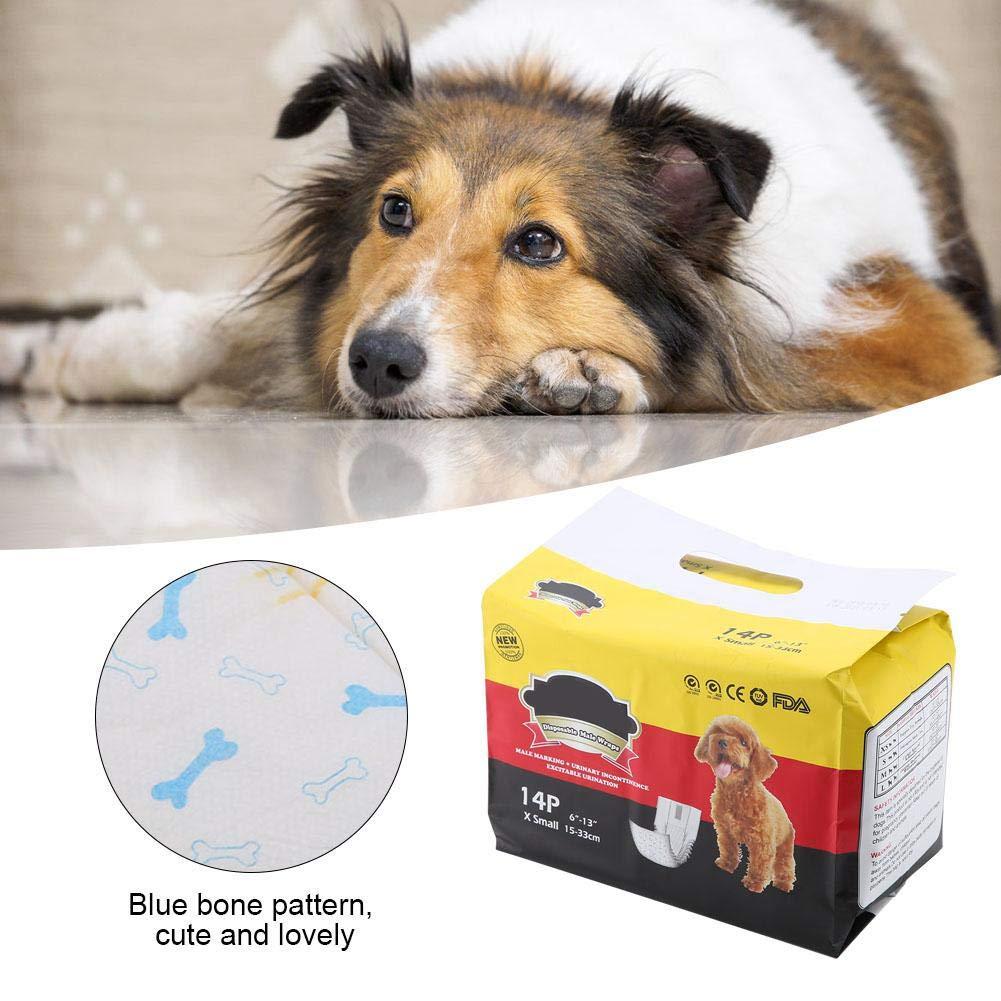 FTVOGUE Cane Pannolini Pet Cucciolo di Cane di Sicurezza Pantaloni Anti-Harassment Sanitario mestruale fisiologico Pantaloni