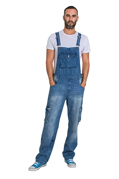 Amazon.com: USKEES Bib-Overalls - Pantalones vaqueros para ...