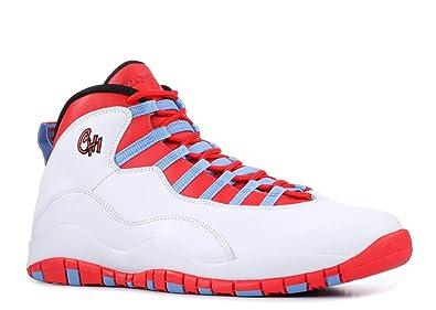 c25a3583035 Amazon.com | Air Jordan 10 Retro Chicago Flag Mens | Fashion Sneakers
