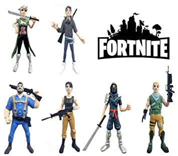 ARUNDEL SERVICES EU Fortnite 6 Figuras de acción Personajes Fortnite Fortnite Battle Royale Fortnite