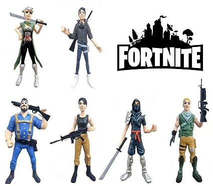 ARUNDEL SERVICES EU Fortnite 6 Figuras de acción Personajes Fortnite Fortnite Battle Royale Fortnite