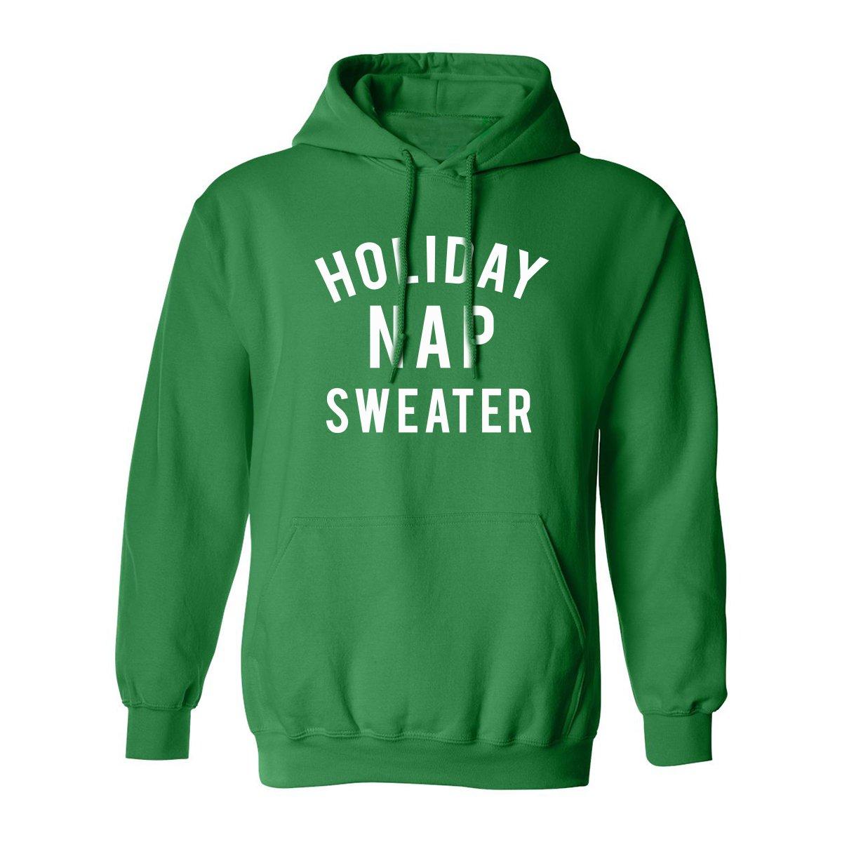ZeroGravitee Holiday Nap Sweater Adult Hooded Sweatshirt PA-3228-HD