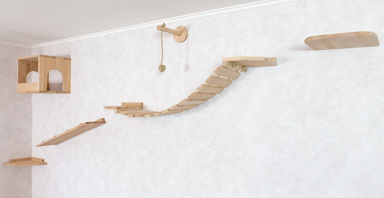katzen wandpark handgefertigte tierm bel luxusm bel katzenm bel in vielen ausf hrungen. Black Bedroom Furniture Sets. Home Design Ideas