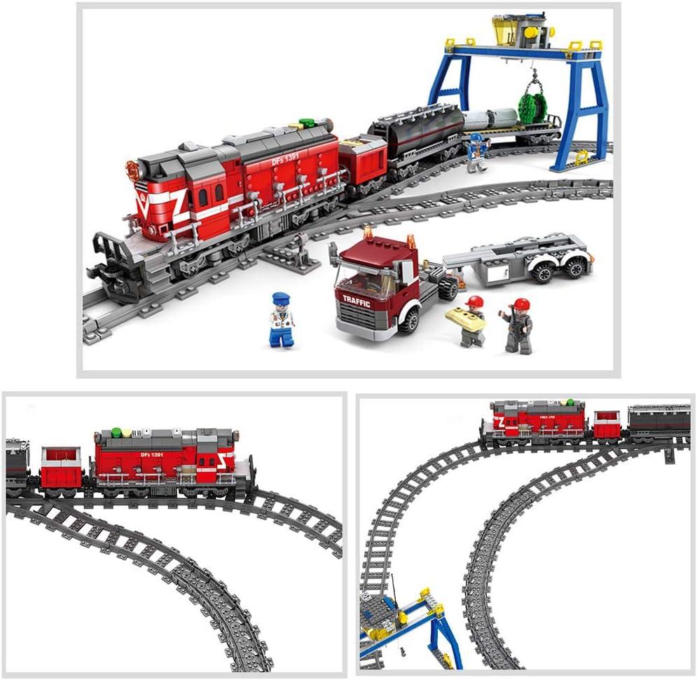 Feleph Train Track Set City RC Curved//Straight//Flexible Trains Rail Non-Powered