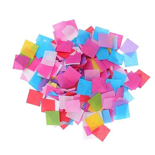 SUPVOX 1 Paquete Colorido Confeti de Mesa de Fiesta de ...