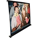 Pyle Portable Projector Screen - Mobile Projection Screen Stand, Lightweight Carry & Durable Easy Pull Out System for…