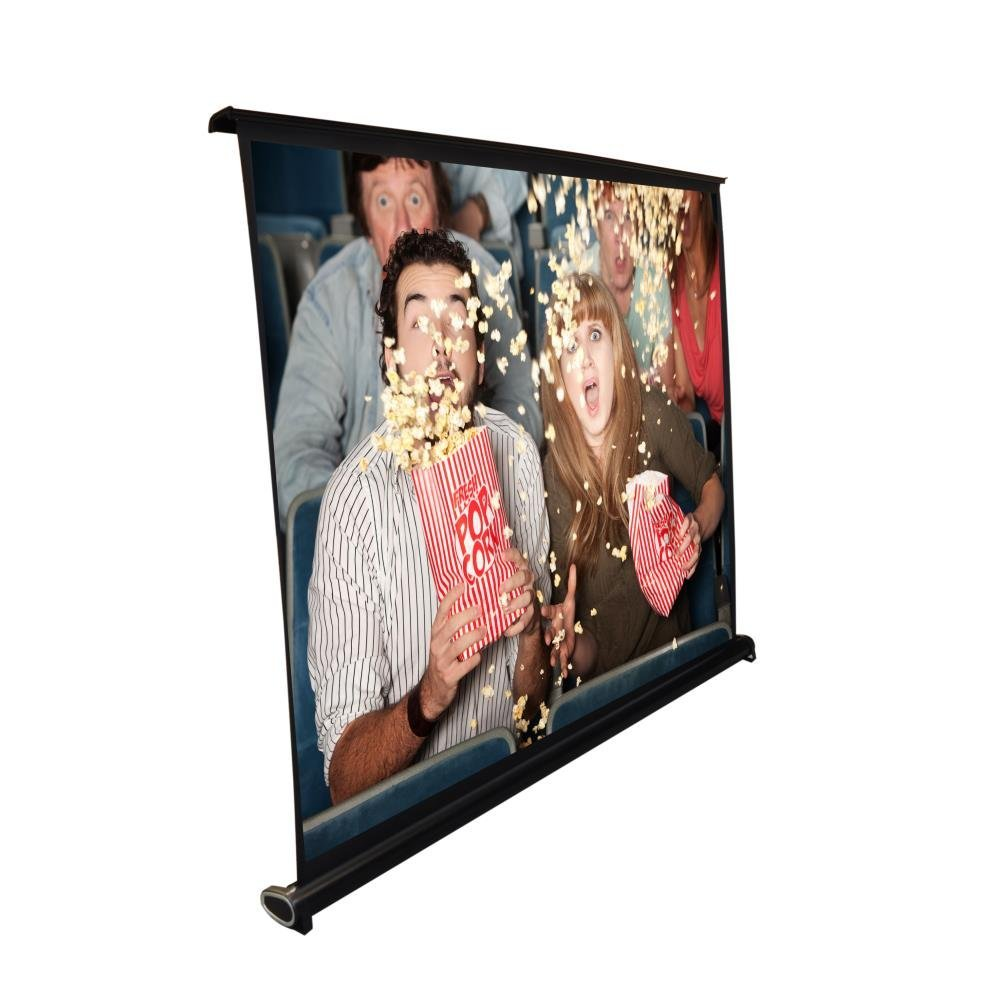 Upgraded Pyle 40'' Portable Projector Screen, Easy Pullout Portable, Screen Projector, Outdoor Projection Screens, Projector Wall Screen, Movie Screens for Projectors Outdoor, Quick Assembly (PRJTP46)