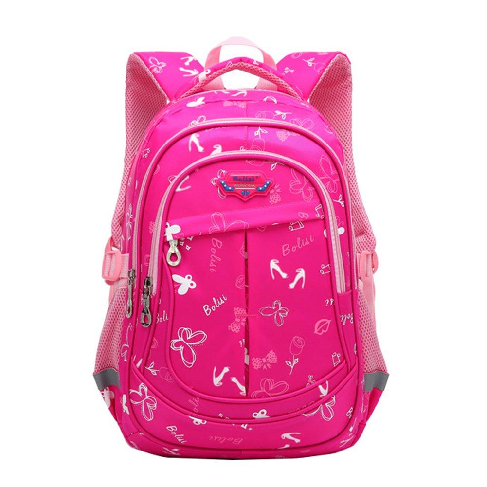 Bookbag for Elementary School Girls and Boys Big Student Waterproof  Classics Backpack da3d229315